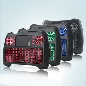 T16 미니 무선 키보드 백라이트와 백라이트 2.4G 플라이 에어 마우스 원격 Controlers 최고 품질 게임 키보드 TV 상자