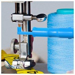 Горячая Продажа 3 шт Шитье игла Inserter Автоматической игла Threader Резьбонарезной инструмент для Швейных машин bBVS #