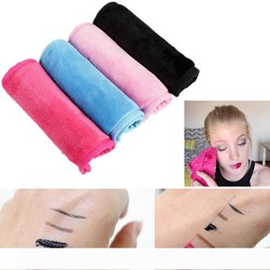 Magic soft Makeup Remover Towel Reusable Natural microfiber Cleaning Skin Face Eraser Towel Lazy clean beauty Facial Wipe Cloths Wash Cloth