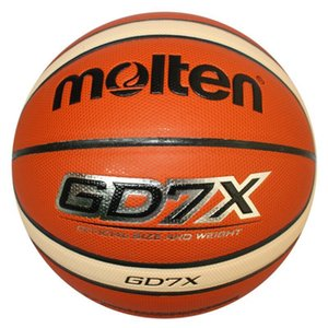 Top Quality Molten Basketball GD7X Size 7 PU Material Basketball Ball Outdoor Indoor Training Ball For Match Free Shipping