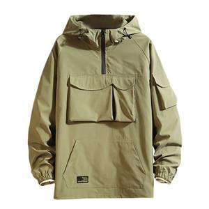 Men Women Quick Dry Hiking Jackets Waterproof Men's New Style Fashion Casual Cap Jacket Fashion Large Comfortable Jacket Coat#g4 T191013