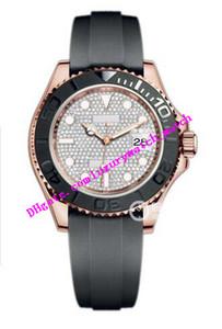 Montre de Luxe New 40mm Everose Or Mens bracelet Date de 116655 Mode Automatique Montres Hommes Montre ventes usine