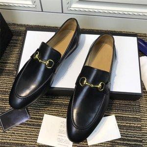 ارتفاع جودة الإنتاج الجلد العجل الأسود مع المشمش التقليد تسولي جلد في الماشية أحذية الأعمال، مجموعة كاملة من علبة حذاء