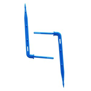Blue Arrow Dripper for 3 5mm Hose Greenhouse Irrigation System Curved Arrows Emitter Automatic Watering Pipe Dripper 500 Pcs
