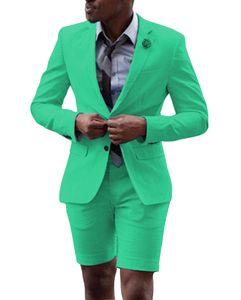Последние Брюки Пальто Designs Мужских костюмов для венчания вскользь бизнес мужчина куртки Groom Tuxedo Пром сшитых Две пьес Мужских костюмов Летней одежды