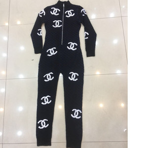 женские Комбинезоны женские одежды Оборудуйте Повседневная мода Outfit Размер S-L @ 191126-au3