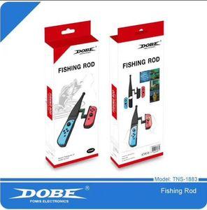 2020 Dobe Formis Electronics Fishing Rod for N-swich Joy-con Fishing Rods 1pc Grae TNS-1883 Fishing Rod Drop Ship