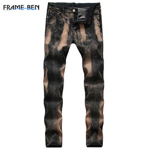 FRAME BEN jeans Slim men trousers 2019 men's Casual Thin Pants Classic Cowboys Young Man blue mens skinny jeans hiphop