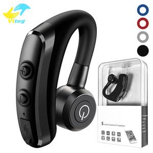 Vitog high quality k5 Wireless Bluetooth Earphones CSR 4.1 single ear Business Stereo Headphones hook Earbuds Headset