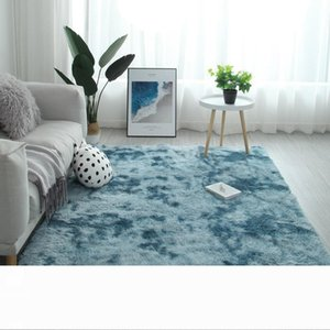 Gradient Massiv Teppich Dickere Teppiche Anti-Rutsch-Matte Badezimmer Oberfläche Teppich für Wohnzimmer weiche flaumige Kind Schlafzimmer Mats Rosa alfombra