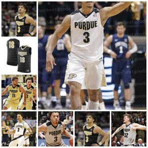 2020 personalizado Purdue Boilermakers Basquete # 3 Carsen Edwards 32 Matt Haarms V. Edwards Mason Gills Wheeler Hunter Jr. Proctor Jersey Stitch0
