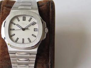 Top PPF V3 Nautilus Mens Watch EXTRA-FINA 8,6 milímetros Dial Azul suíço Cal.324sc automática 28800vph cristal de safira clássicos Homens Relógios