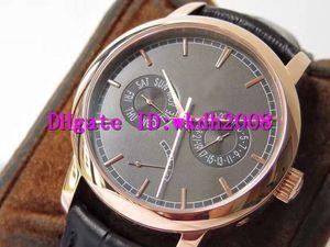 AI TRADITIONNELLE 85290 Reloj de pulsera suizo 2475SC mecánico automático 28800 Fecha VPH reserva de energía Pantalla de 18 quilates de oro rosa reloj de lujo