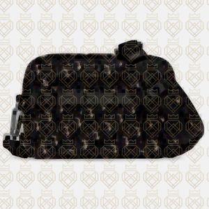 TOP nouveau Oblique TOILE SAFARI POUCH GRAINS D10R petit sac à bandoulière bandoulière Cartable Femmes Hommes sac à main atelier HOMME 22 x 15 x 5 cm