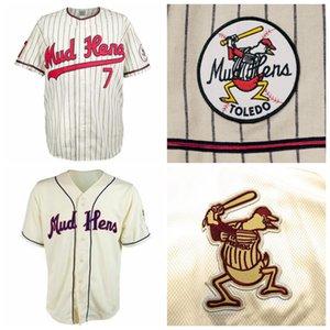 Custom Toledo Mud Hens 1965 Home Baseball Jerseys Any Name Any Number Free Shipping Size S-4XL