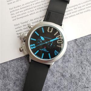 Совершенно новый автоматический механический мужской U-хронометр U1001 водонепроницаемые часы многоцветный большой циферблат лодочные часы резиновые классические круглые U-часы