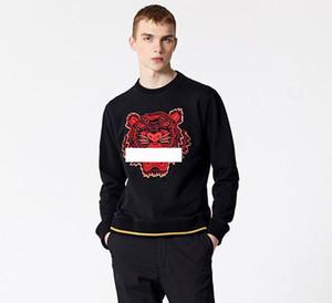 2019 Tiger-Kopf Hoodies Mens Classic Long Sleeve Sweatshirt Designer Hoodie Mode-Spitze Hemden Herbst-Frühlings-Luxus-Kleidung Pullover S-XXL