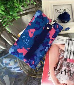 Hot Vintage mujeres lienzo cambio de moneda Monedero billetera llaves bolso bolsillo titular maquillaje cosmético 23 colores