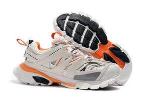 2020 di lusso della pista di uscita 3 .0 Tess S Parigi Triple S Sneakers Cancella Sole progettista del mens scarpe per le donne gli uomini Sneakers Trainers carrello