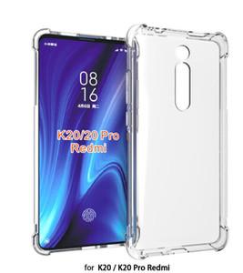 Para Xiaomi Pocophone F1 / redmi K20 Pro / Mi 9T Protección Poco X3 cubierta NFC 7 Funda de silicona transparente suave de la piel del gel Pro / redmi 7 7A Nota