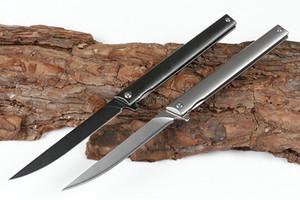 cuchillo de titanio Magic Pen M390 hélice de plegado mango del cuchillo táctico de la supervivencia de titanio caza al aire libre para acampar herramientas Cuchillos EDC