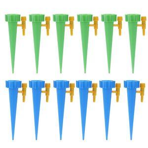 Los kits de riego 12pcs sistema de riego por goteo automático de riego automático de Pico para plantas de jardín de riego de jardines Suministros