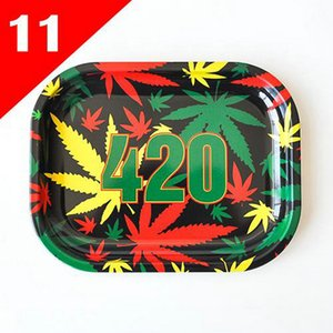 2020 High Quality Cartoon Rolling Tray Metal Tobacco Rolling Tray For Smoking Herb Grinder Rolling Paper Smoke Accessory From IEsND