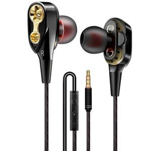 gros In-Ear écouteurs stéréo Blanc / Noir / Rouge 3,5 mm casque casque avec micro et télécommande pour Samsung Mobile Phone Android Phone dhl