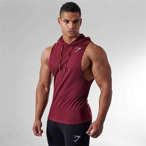 Kolsuz Yelek Yaz Pamuk Erkek Tank yelek mens spor kıyafetleri Spor Salonları Giyim Vücut Atlet Egzersiz Fitnes Tank Tops