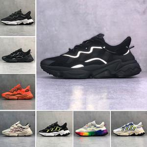 Adidas Ozweego adiPRENE shoes Yeni Lüks Erkekler Kadınlar Için 3 M Yansıtıcı Xeno Ozweego Hız Calabasas Rahat Ayakkabılar Eğitmen Spor Tasarımcısı Sneakers Chaussures 36-45