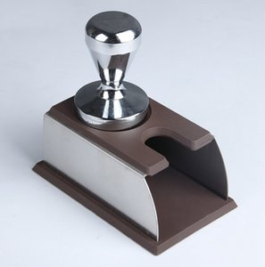 الفولاذ المقاوم للصدأ سيليكون إسبرسو القهوة العبث القهوة الوقوف آلة أداة باريستا أداة تدحرج حامل الرف الجرف