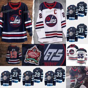 Patrik Laine Jersey Winnipeg Jets Pierre-Luc Dubois Blake Wheeler Nikolaj Ehlers Dustin Byfuglien Connor Hellebuyck Mark Scheifele Formalar