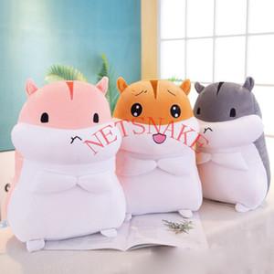 Kız arkadaşının hediye için 2019 Yeni Sevimli kız kalp Hamster peluş oyuncak bebek çocuk bezi bebek peluş oyuncak yastık
