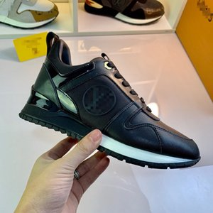 New Luxury Leather Casual Shoes Female Designer Sports Shoes Men \&#039 ;S Shoes Leather Fashion Leather Mixed Color Leisure 36-45
