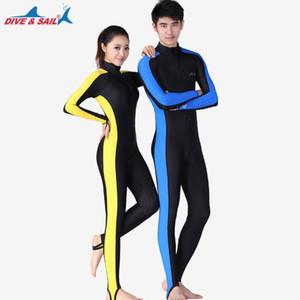 UV Protection contre le soleil Maillots de bain Stinger Costume Combinaison de plongée Lycra peau Jumpsuit Full Body Rash Guard Néoprène de base