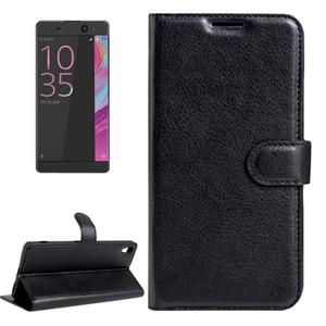 Für Sony Xperia XA Ultra-Litchi Texture Horizontal Flip Ledertasche mit Magnet Buckle Halter-Karten-Slots Wallet