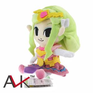 Princesa Zelda muñeca de la felpa La leyenda de Zelda The Wind Waker Juegos Peluches princesa muñeca de peluche