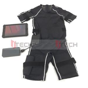 Сухой костюм Electro Фитнес EMS тела для похудения мышц тренировки мышц Стимулятор беспроводной Стимуляция Потеря веса машины для домашнего использования Gym