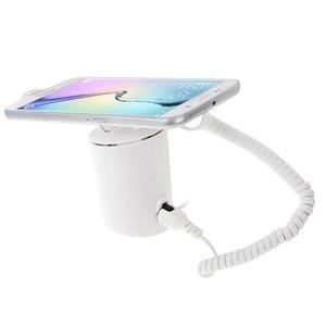 Cilindrico Display Stand Sistema di ricarica antifurto di sicurezza / allarme antifurto con telecomando a infrarossi per i telefoni mobili