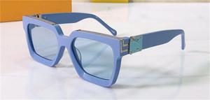 occhiali da sole di disegno degli uomini milionario vendita calda occhiali d'avanguardia all'aperto cornice quadrata all'ingrosso superiore di stile con il caso 96006
