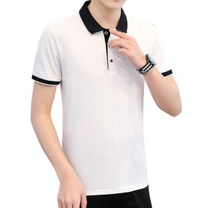 2020 Summer Mens Designer Polo Brand small horse clothing men fabric polo t-shirt collar casual t-shirt Solid Color tee shirt tops