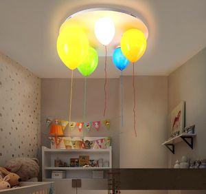 Juguete para niños lámparas de techo modernas luces de techo con globos de colores sala de estar dormitorio habitación de niños balcón iluminación LLFA