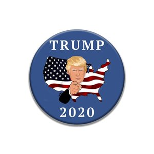 Trump Badge Custom Patches For Clothing Iron Embroidered Diy Patch Applique Iron Sew On Style Patches Sewing Accessories For Clothes #754