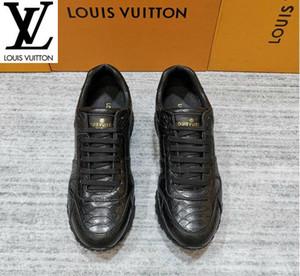 Chenfei2 G970 Resmi web sitesi sıcak avangard kişilik spor Erkekler Elbise Sneakers Loafers Makosenler Toka Dantel-Ups Çizme Sandalet ayakkabı
