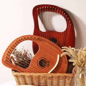 Instrument Kit Portable Lyre Harp 16 cordes en bois notes harpe musicale NOUVEAU Stringed