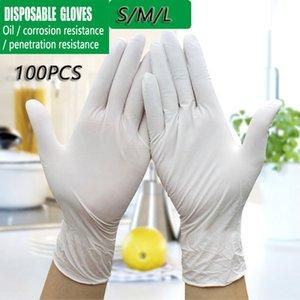 200 piezas desechables Guantes de nitrilo multipropósito hogar trabajo Guantes de protección Flexible sin látex mano Guantes Desechables protección Glov