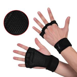 Aptitud barra horizontal pull-ups tirón duro con pulseras equipos antideslizantes push-pull guantes de protección palma hombres y mujeres