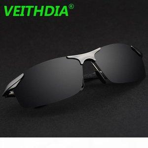 VEITHDIA Aluminum Brand Designer Polarized Sunglasses Men Glasses Driving Glasses Summer 2017 Eyewear Accessories 6529