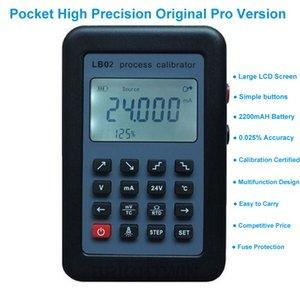 LB01 LB02 프로세스 교정기 옴 열전대 전류 전압 RTD PT100 시뮬레이터 mV의 mA 교정기 4-20mA 0-10V 신호 발생기 업그레이드