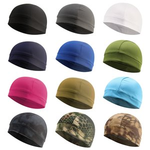Quick Dry Helmet Cycling Cap Anti-UV Anti-Sweat Sports Hat Motorcycle Bike riding Hat Unisex Inner Cap Sports